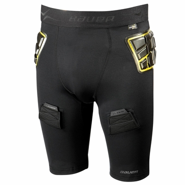Bauer Elite Padded Hockey Jock Shorts - Senior