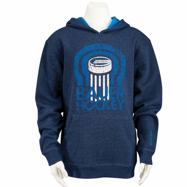 Bauer Hockey Puck Pullover Hoodie - Youth