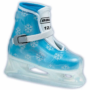 Bauer Lil Angel Youth Hockey Ice Skates - Blue