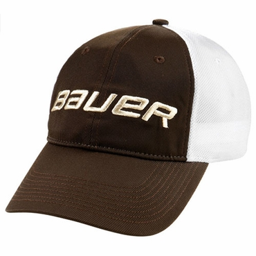 Bauer Logo Stretch Mesh Senior Hockey Hat - 2010