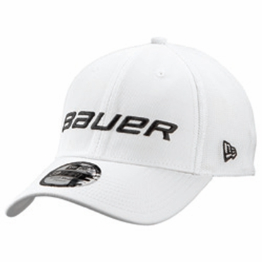 Bauer New Era 39Thirty Hockey Hat - White - Senior