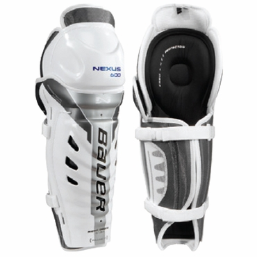 Bauer Nexus 600 Senior Hockey Shin Guards