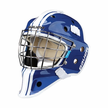 Bauer NME 3 Decal Senior Hockey Goalie Mask - Blue