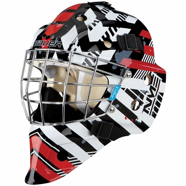 Bauer NME 3 Youth Hockey Goalie Mask - Matrix Chicago