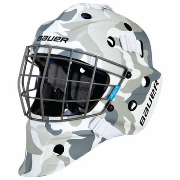 Bauer NME 5 Designs Senior Hockey Goalie Mask - Camo White
