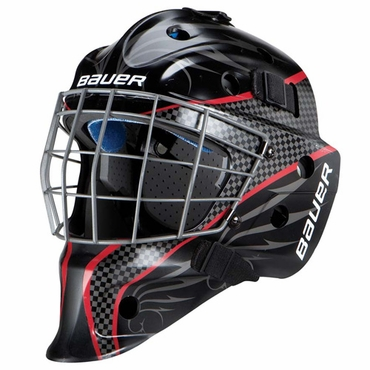 Bauer NME 5 Designs Senior Hockey Goalie Mask - Red
