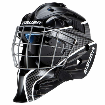 Bauer NME 5 Designs Senior Hockey Goalie Mask - White