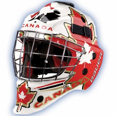 Bauer NME 7 Painted Senior Hockey Goalie Mask - Canada