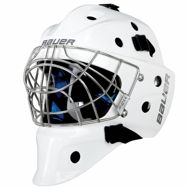 Bauer NME 8 Certified Cat Eye Hockey Goalie Mask - Senior