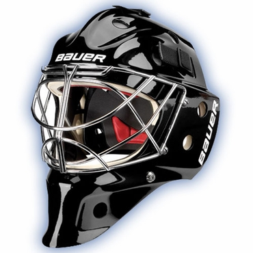 Bauer NME 9 Pro Titanium Senior Hockey Goalie Mask w/Cateye Cage