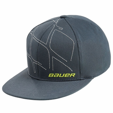 Bauer No Heroes Senior Flat Brim Hockey Hat - 2010