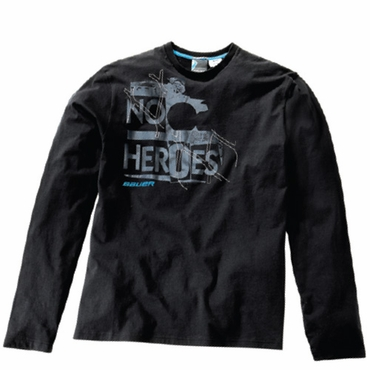 Bauer No Heroes Senior Long Sleeve Hockey Shirt - 2010