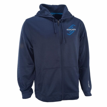Bauer Post-Game Hockey Full-Zip Hoodie - Senior