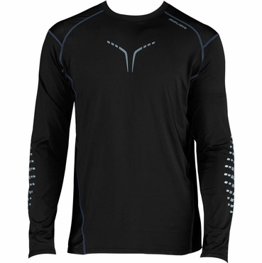 Bauer Premium Grip Junior Long Sleeve Hockey Shirt