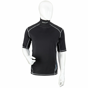 Bauer Premium Integrated Neck Senior Short Sleeve Hockey Shirt