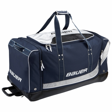Bauer Premium Senior Wheeled Hockey Goalie Bag - Medium
