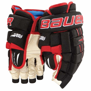 Bauer Pro 4-Roll Junior Hockey Gloves