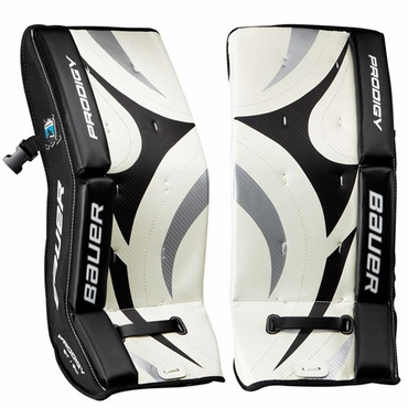 Bauer Prodigy Youth Hockey Goalie Leg Pads - 2012