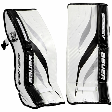 Bauer Prodigy Youth Hockey Goalie Leg Pads - 2013