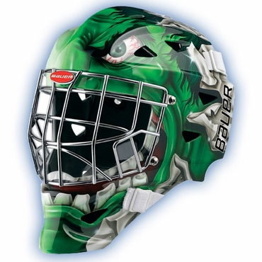 Bauer Profile 1400 Marvel Senior Hockey Goalie Mask - Hulk