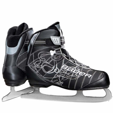 Bauer React Recreation Girls Ice Skates