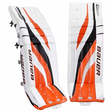 Bauer Reactor 6000 Hockey Goalie Leg Pads - Senior