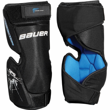 Bauer Reactor Hockey Goalie Knee Guards - Junior