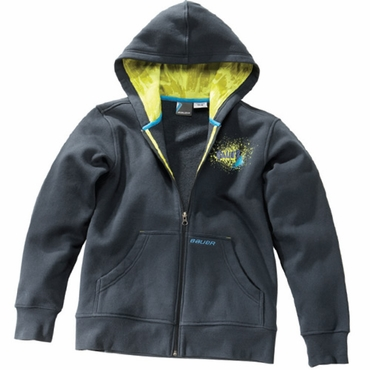 Bauer Resurface Youth Full Zip Hockey Hoodie - 2010