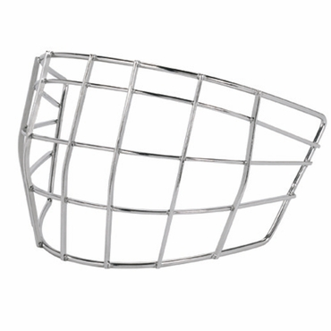 Bauer RP NME Hockey Goalie Stainless Steel Goalie Cage - Junior