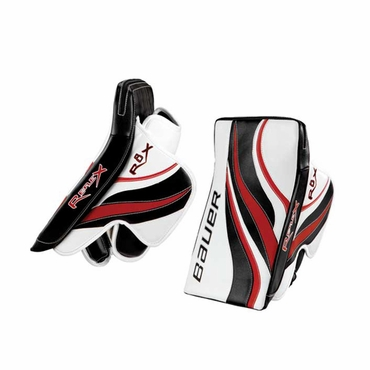 Bauer RX8 Re-Flex Intermediate Hockey Goalie Blocker