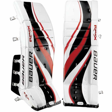 Bauer RX8 Re-Flex Senior Hockey Goalie Leg Pads