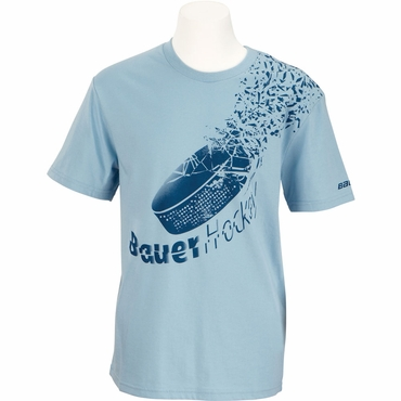 Bauer Shatter Short Sleeve Youth Hockey Shirt