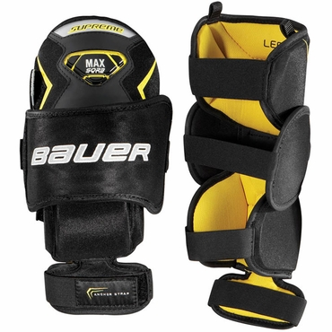 Bauer Supreme Hockey Goalie Knee Guards - Junior