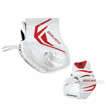 Bauer Supreme ONE70 Hockey Goalie Catcher - Senior