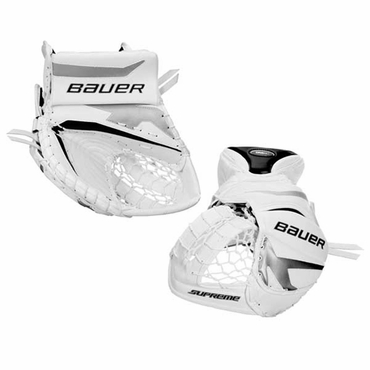 Bauer Supreme ONE80 Intermediate Hockey Goalie Catcher - 2010