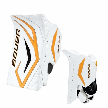 Bauer Supreme ONE90 Intermediate Hockey Goalie Blocker