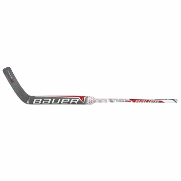 Bauer TOTALONE Intermediate Hockey Goalie Stick - Red