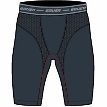 Bauer Vapor Core Compression Hockey Shorts - Senior