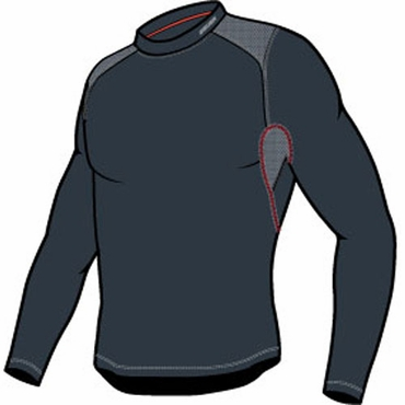 Bauer Vapor Core Senior Compression Long Sleeve Hockey Shirt