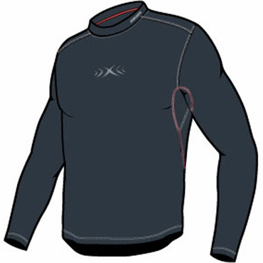 Bauer Vapor Core Long Sleeve Hockey Shirt - Senior