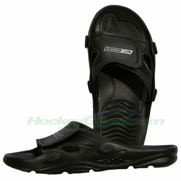 Bauer Vapor Senior Shower Sandals - Black