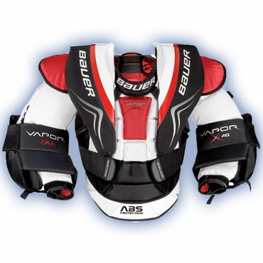 Bauer Vapor X:40 Junior Hockey Goalie Chest & Arm Protector