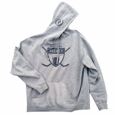 Beer League Hockey Emblem Senior Hoodie