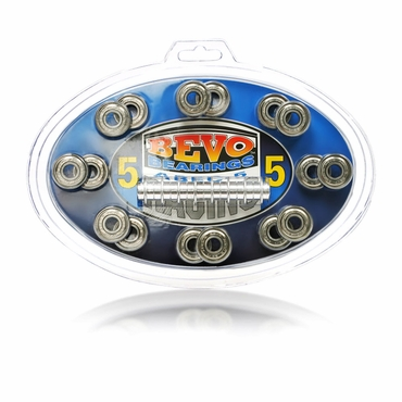 Bevo Inline Hockey Bearings - ABEC-5 - 16 Pack