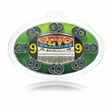 Bevo Inline Hockey Bearings - ABEC-9 - 16 Pack