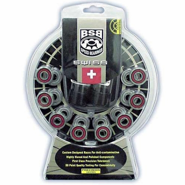 BSB 16-Pack Inline Hockey Bearings - Swiss Lite