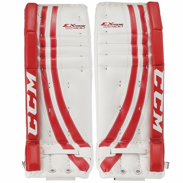 CCM 400 Hockey Goalie Leg Pads - Junior
