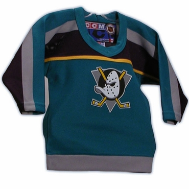 CCM 4100 Toddler Replica Hockey Jersey - Anaheim Mighty Ducks