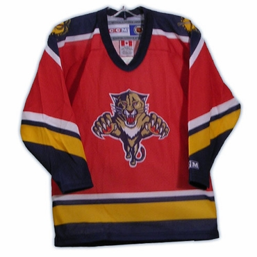 CCM 4100 Replica Hockey Jersey - Florida Panthers - Toddler