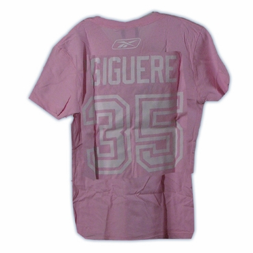 CCM 4962 Player Womens Short Sleeve Hockey Shirt - Anaheim Ducks - Giguere